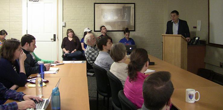 Jeff Morenoff Seminar