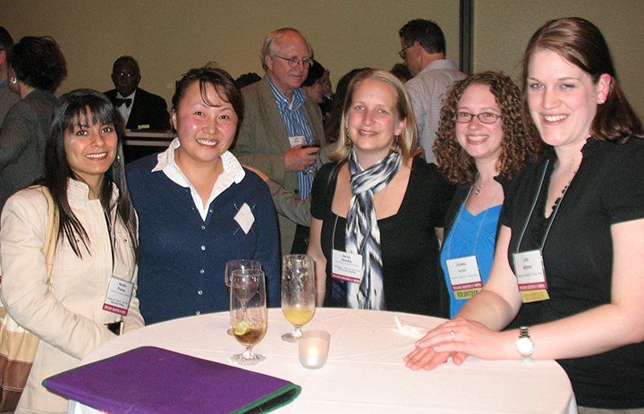 Students and faculty at 2011 PAA Annual Meeting